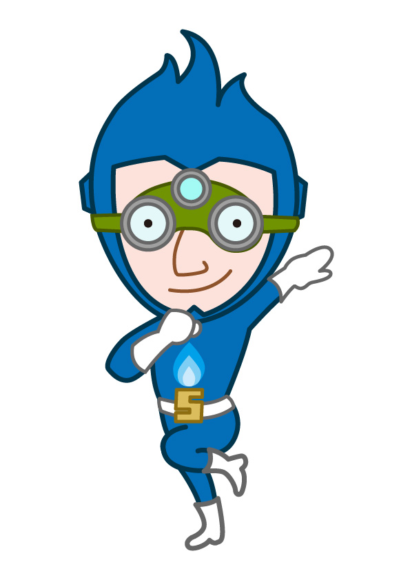 ガス警報器会社さまのマスコットキャラクター制作