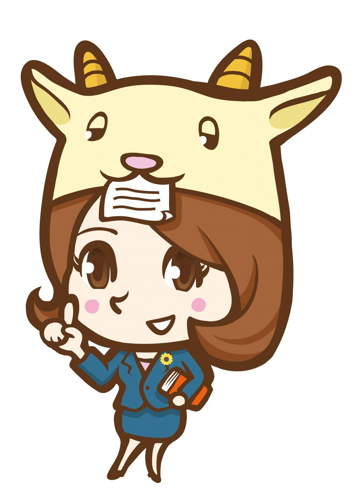 社労士事務所女性キャラクターデザイン