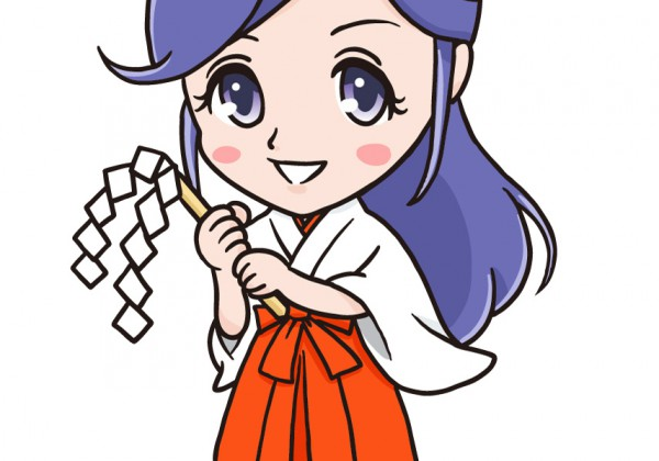 巫女さんキャラクター制作