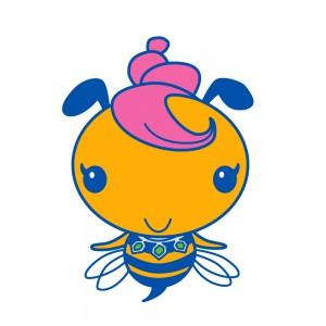 ハチミツ食品のパッケージ用キャラクターデザイン