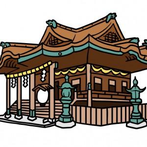 香川県金刀比羅宮イラスト