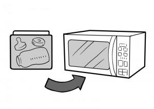 保育園マニュアルに使用する挿絵制作10