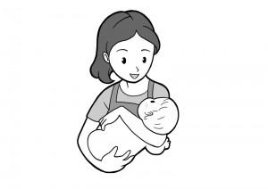 保育園マニュアルに使用する挿絵制作13