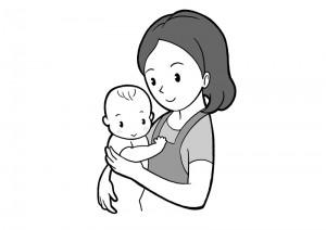 保育園マニュアルに使用する挿絵制作15