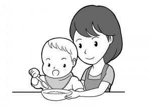 保育園マニュアルに使用する挿絵制作18