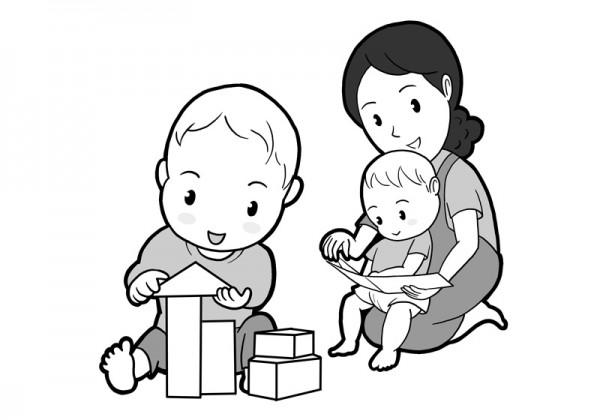 保育園マニュアルに使用する挿絵制作19