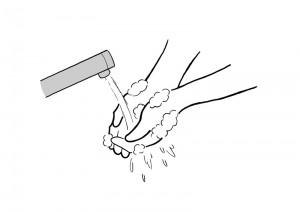 保育園マニュアルに使用する挿絵制作2