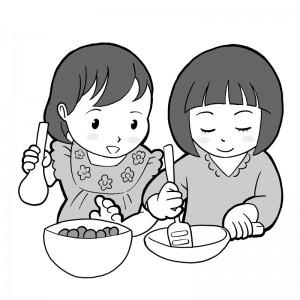 保育園マニュアルに使用する挿絵制作20