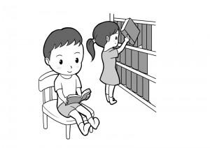 保育園マニュアルに使用する挿絵制作25