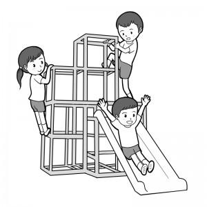 保育園マニュアルに使用する挿絵制作26