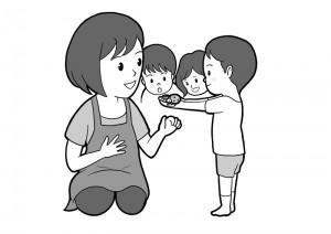 保育園マニュアルに使用する挿絵制作27
