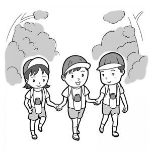 保育園マニュアルに使用する挿絵制作28
