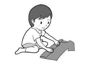 保育園マニュアルに使用する挿絵制作29