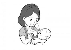 保育園マニュアルに使用する挿絵制作8